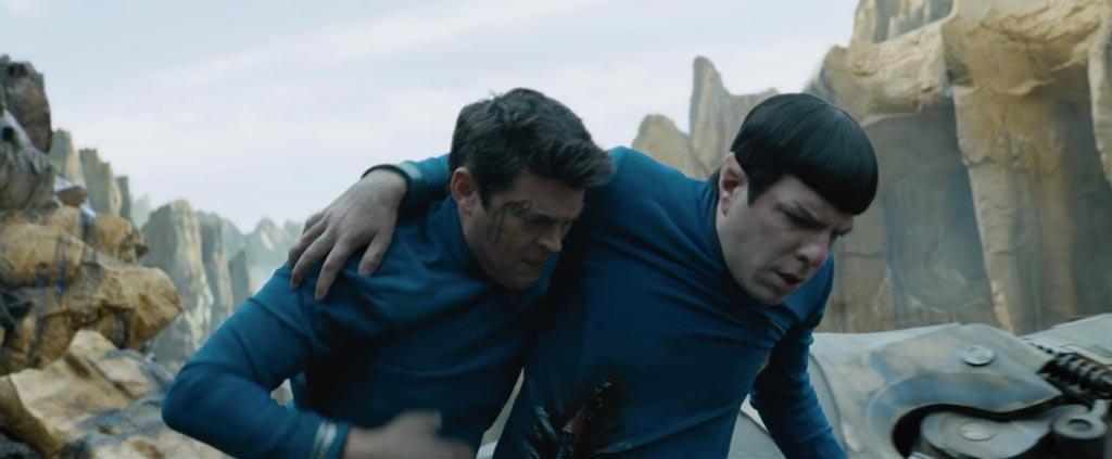 Star Trek Beyond Teaser Screenshot Bones and Spock