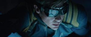 Star Trek Beyond Teaser Screenshot Chris Pine Captain Kirk Goggles