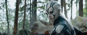 Star Trek Beyond Teaser Screenshot Jaylah Face Paint