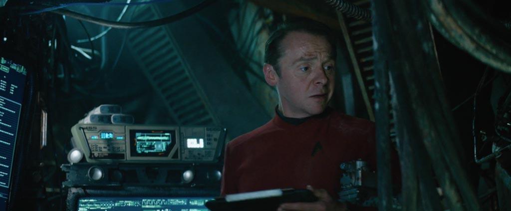 Star Trek Beyond Teaser Screenshot Simon Pegg Scotty