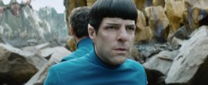 Star Trek Beyond Teaser Screenshot Spock Zachary Quinto