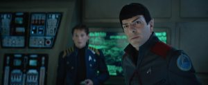 Star Trek Beyond Teaser Screenshot Zachary Quinto Spock