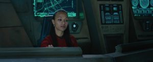 Star Trek Beyond Teaser Screenshot Zoe Saldana Uhuru 1