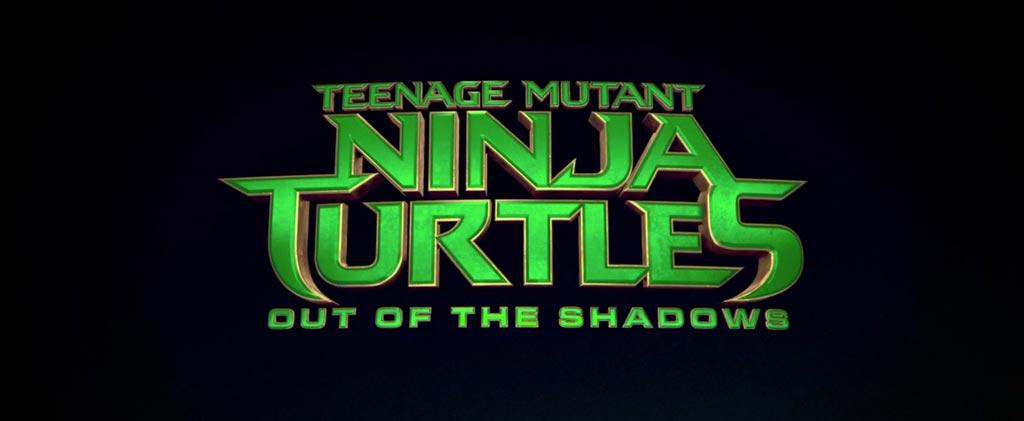 Teenage Mutant Ninja Turtles Out of the Shadows Title Movie Logo