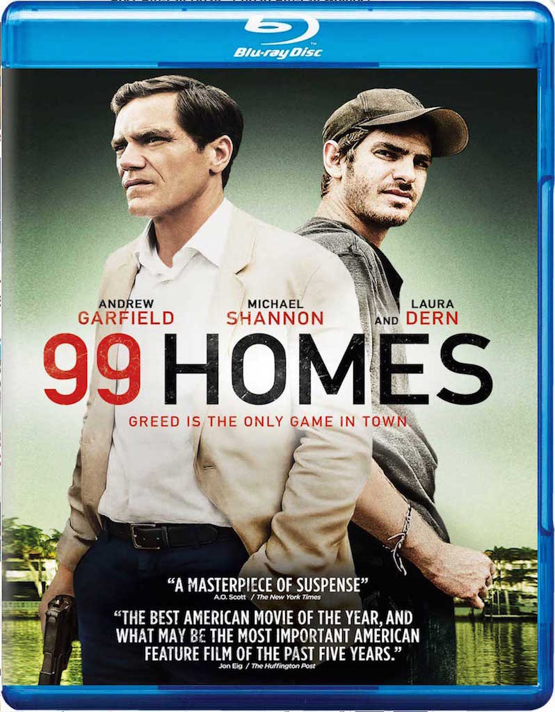 99 Homes Blu-ray Box Cover Art