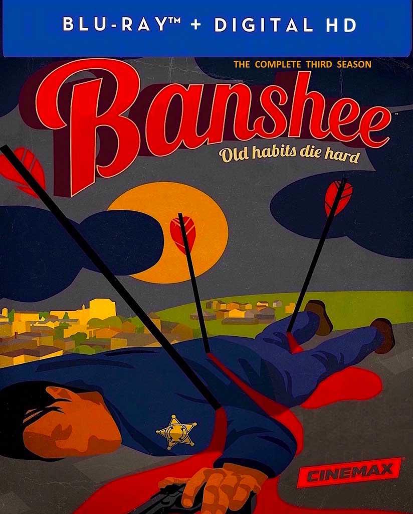 Banshee Season 3 Blu-ray Box Cover Art