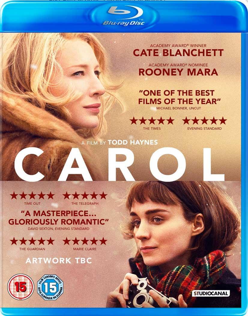 Carol Blu-Ray Box Cover Art