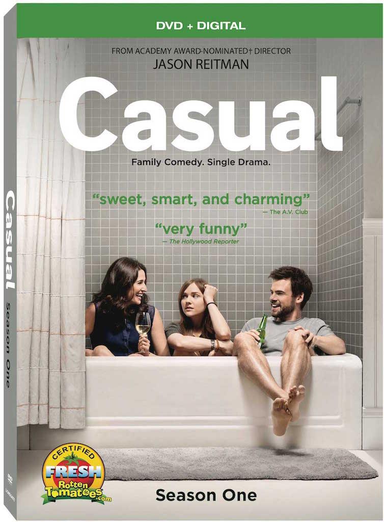 Casual Season 1 DVD Box Cover Art