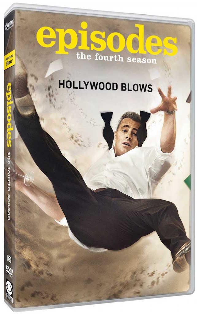 Episodes Season 4 DVD Box Cover Art