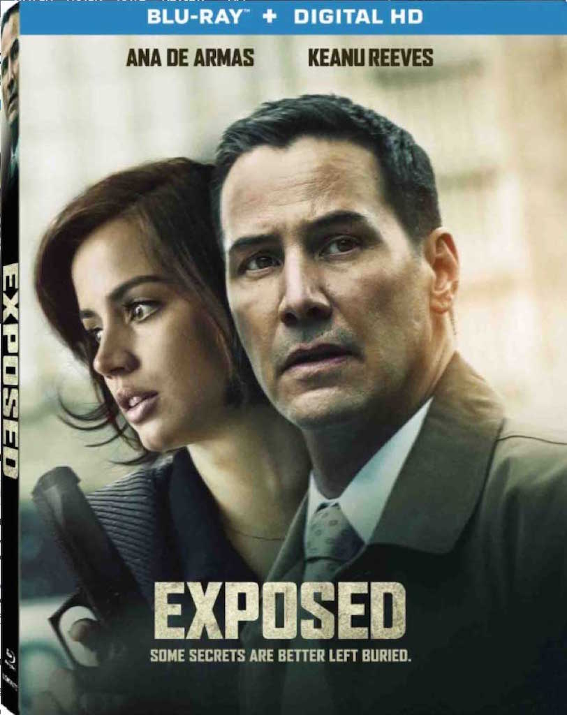 Exposed Blu-ray Box Cover Art