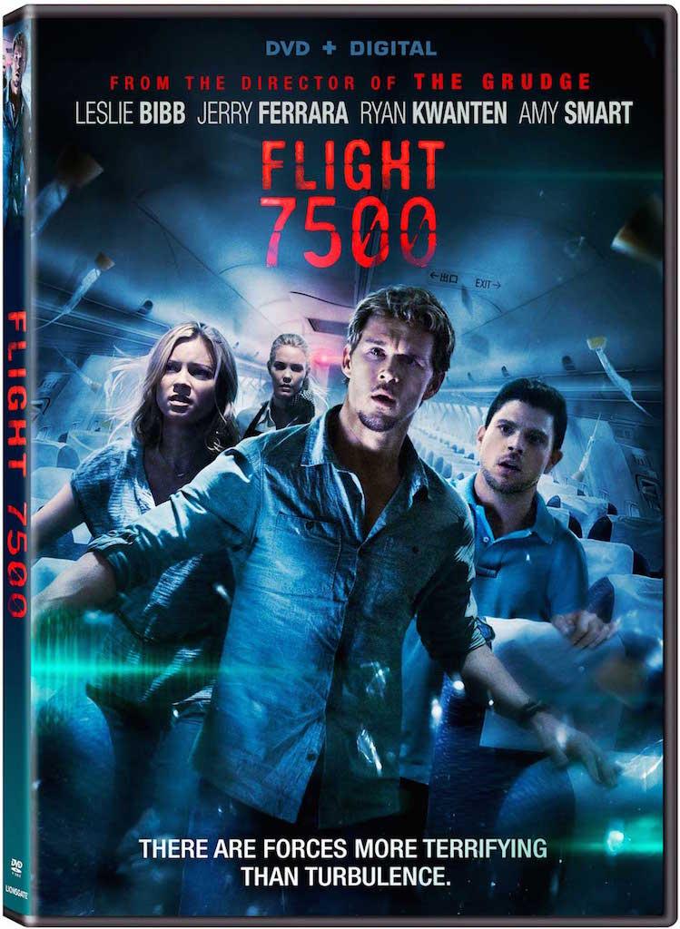 Flight 7500 DVD Box Cover Art