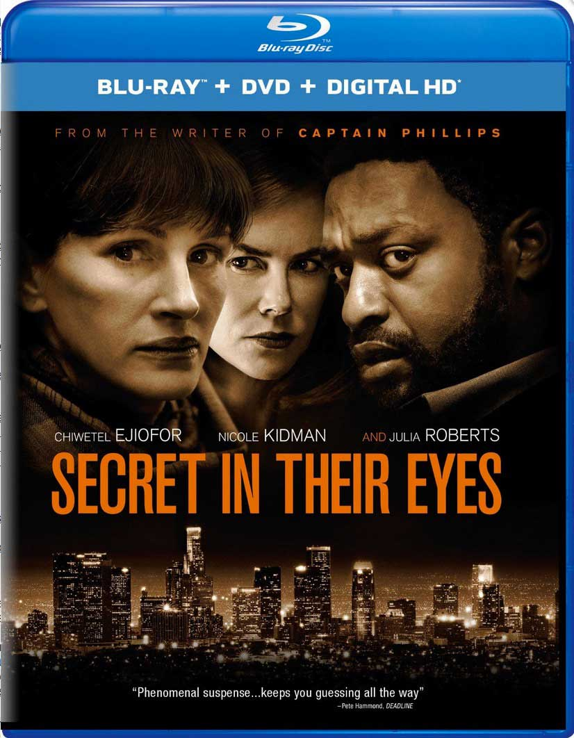 Secret in their Eyes Blu-Ray Box Cover Art