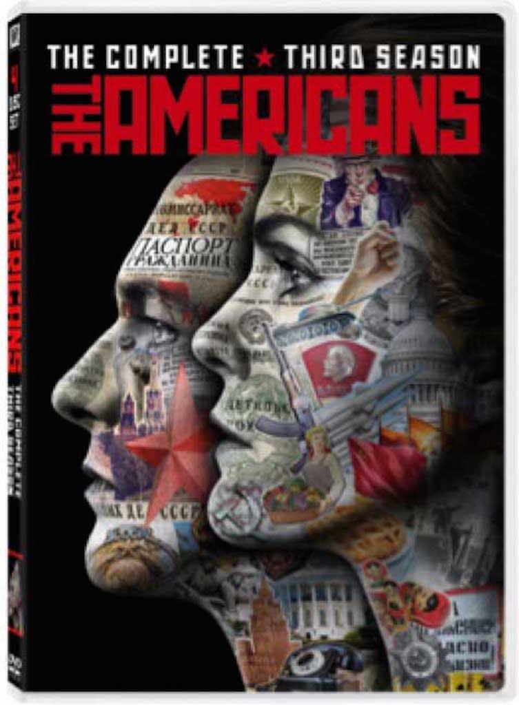 The Americans Season 3 DVD Box Cover Art