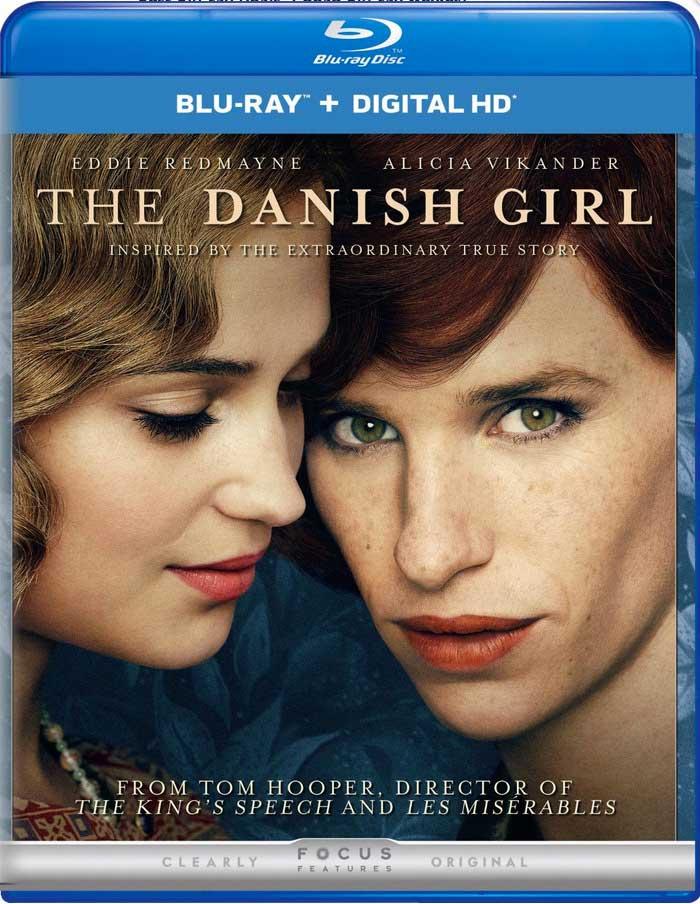 The Danish Girl Blu-ray Box Cover Art