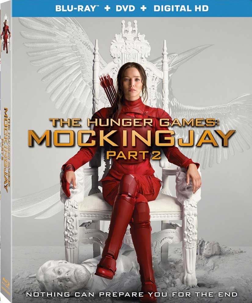 The Hunger Games Mockingjay Part 2 Blu-ray Box Cover Art