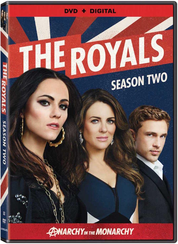 The Royals Season 2 DVD Box Cover Art