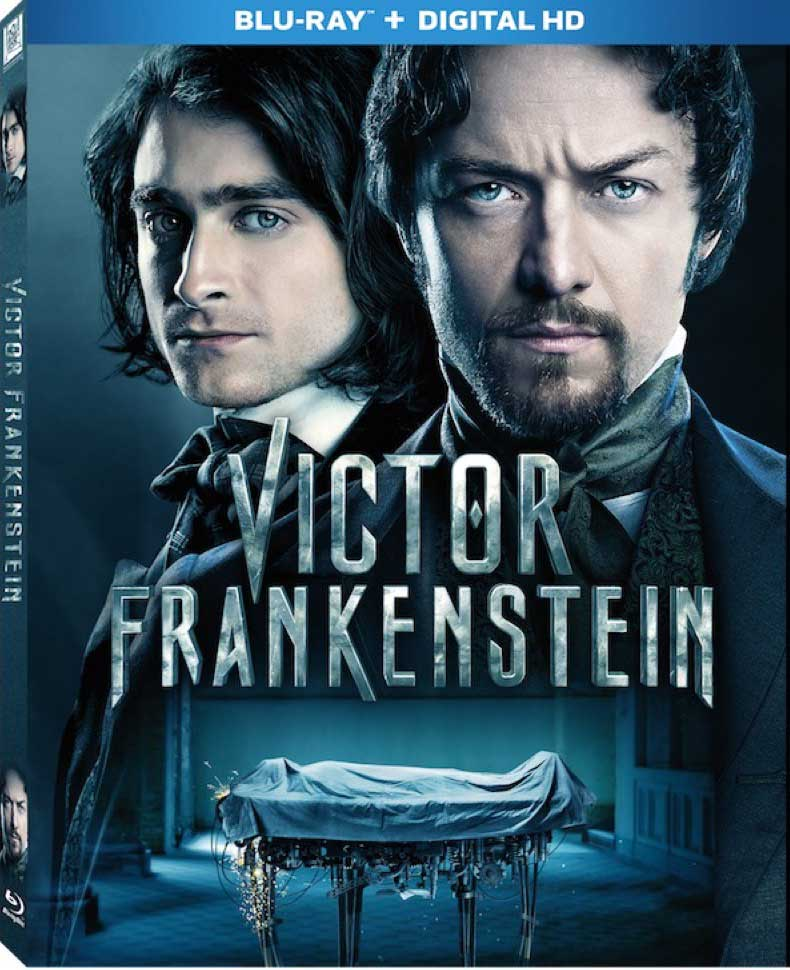 Victor Frankenstein Blu-Ray Box Cover Art