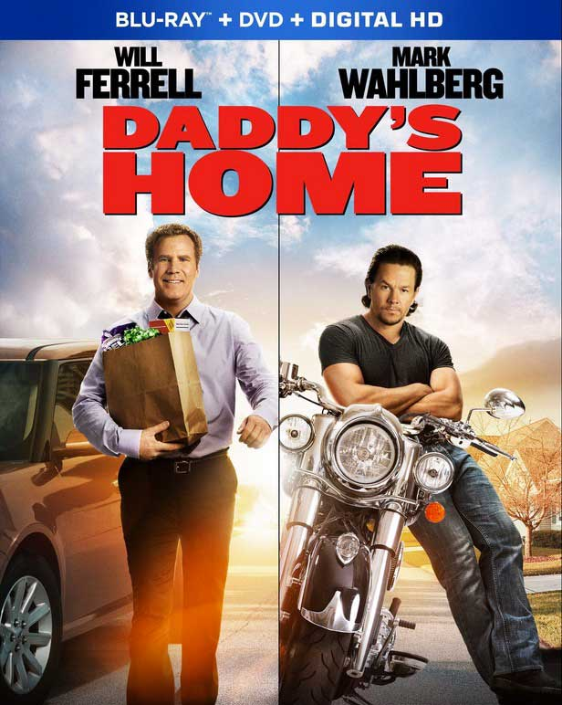 Daddy's Home Blu-ray Box Cover Art