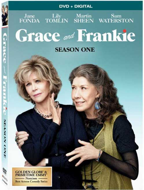Grace and Frankie Blu-ray Box Cover Art