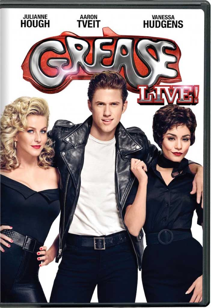 Grease Live! DVD Box Cover Art