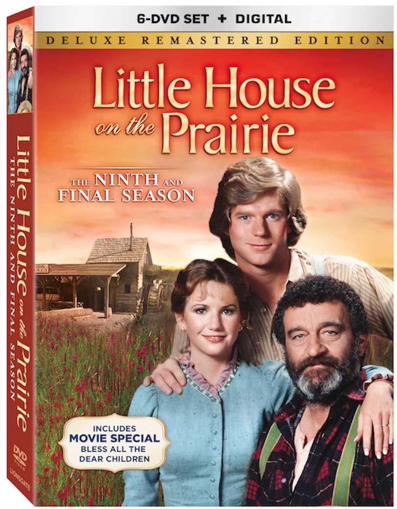 Little House on the Prarie Season 9 DVD Box Cover Art