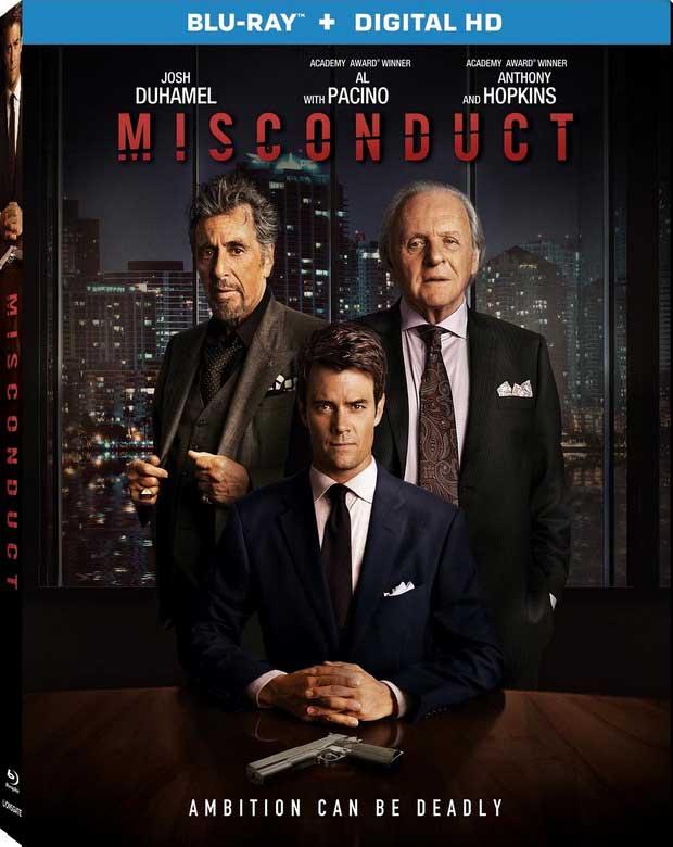 Misconduct Blu-ray Box Cover Art