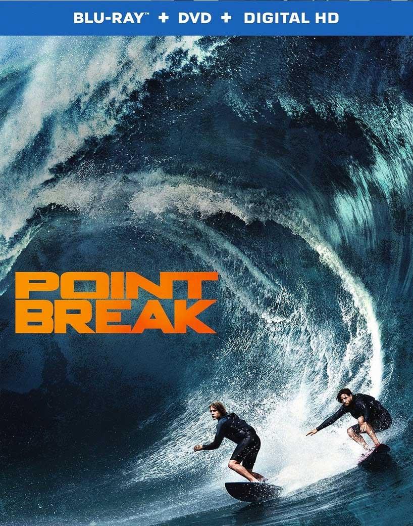 Point Break 2015 Blu-ray Box Cover Art