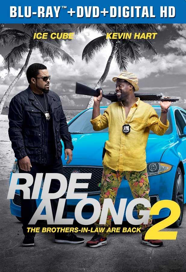 Ride Along 2 Blu-ray Box Cover Art
