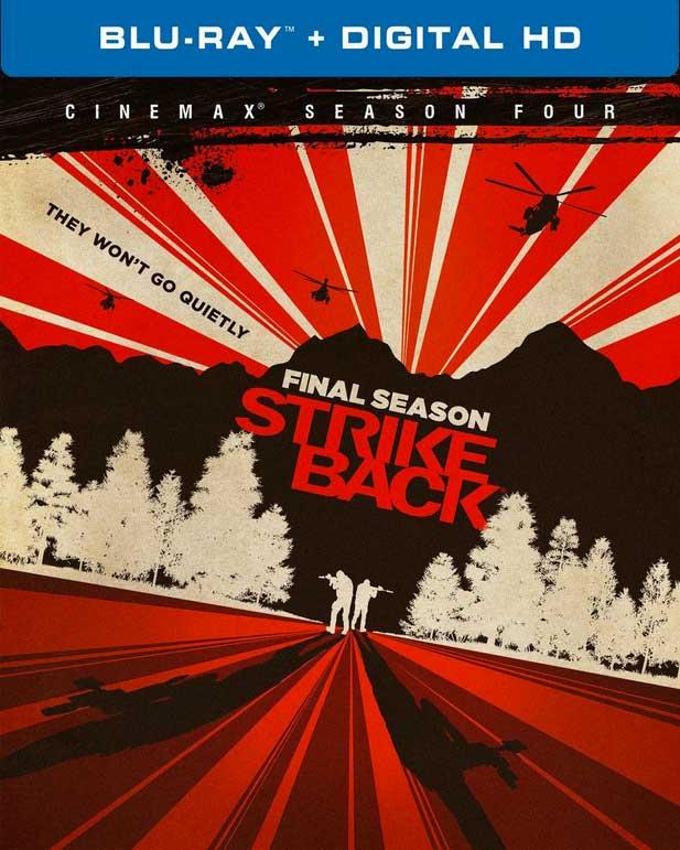 Strike Back Season 4 Blu-ray Box Cover Art