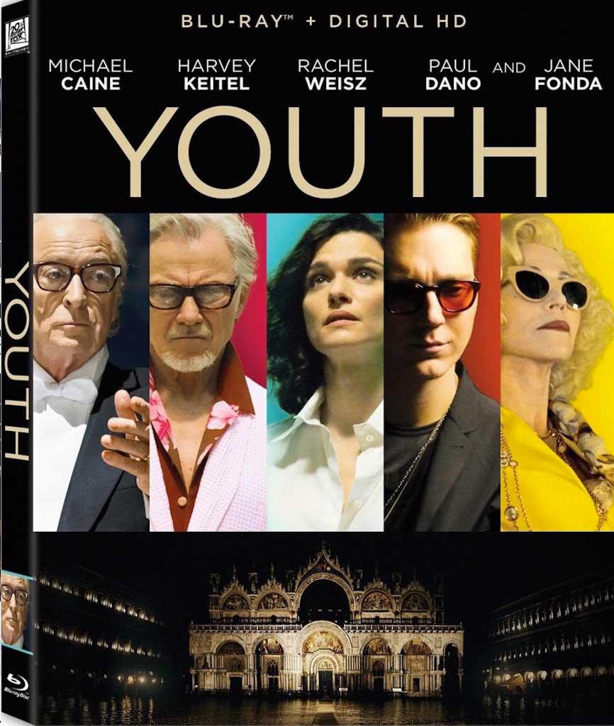 Youth Blu-Ray Box Cover Art