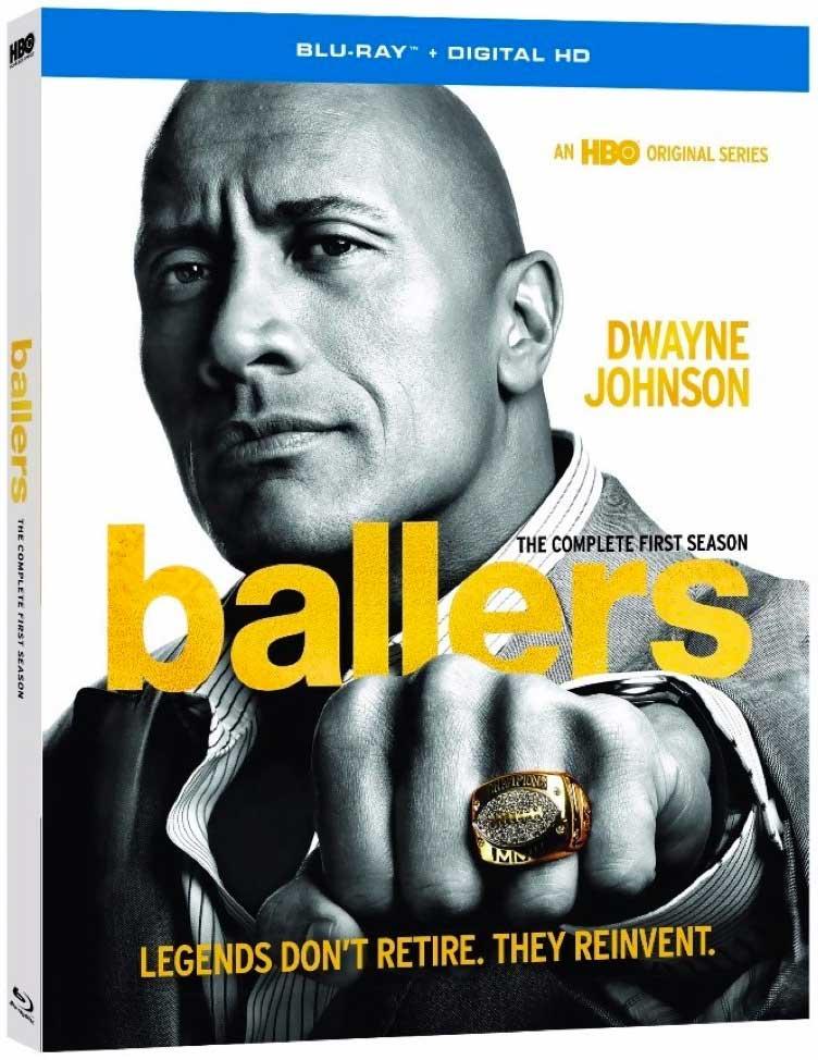 Ballers HBO TV Blu-Ray Box Cover Art