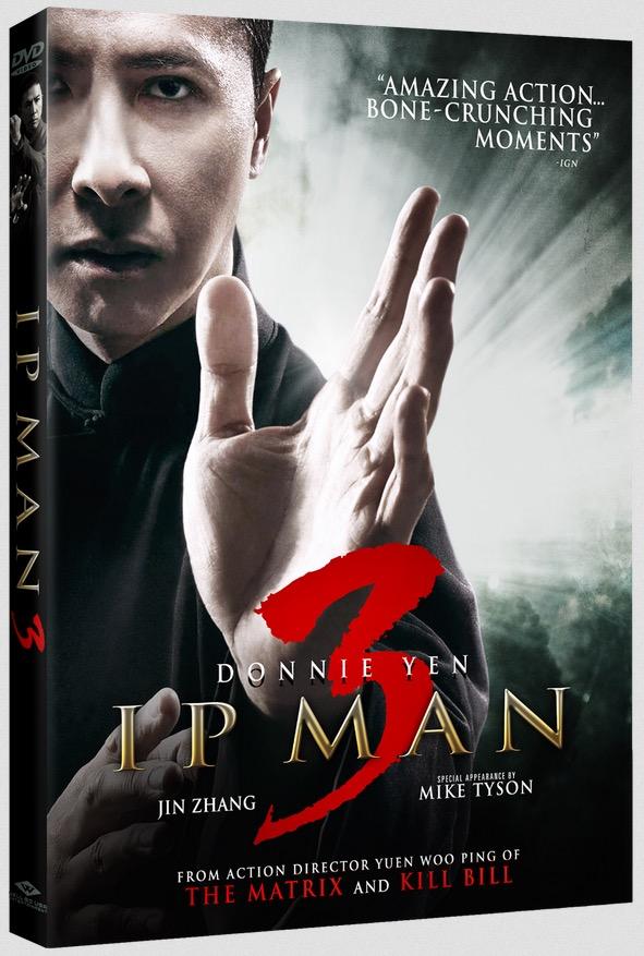 Ip Man 3 Blu-ray Box Cover Art
