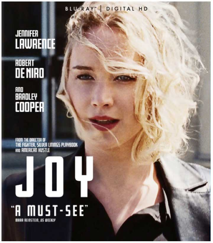 Joy 2015 Blu-Ray Box Cover Art