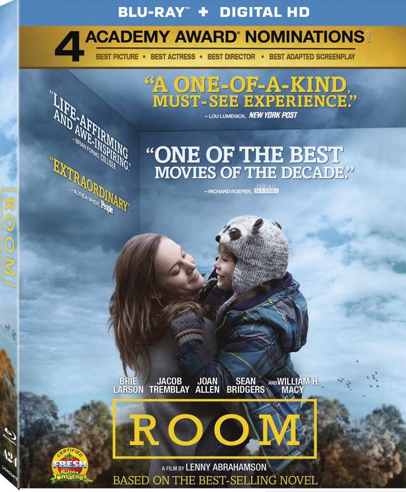 Room Blu-ray Box Cover Art