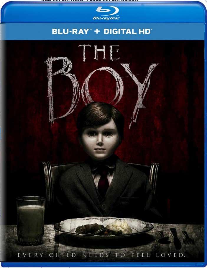 The Boy 2016 Blu-Ray Box Cover Art