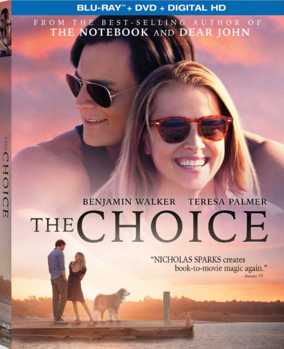 The Choice Blu-ray Box Cover Art
