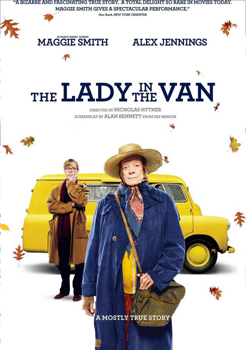 The Lady in the Van Blu-ray Box Cover Art