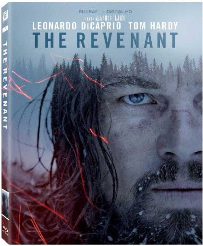 The Revenant Blu-Ray Box Cover Art