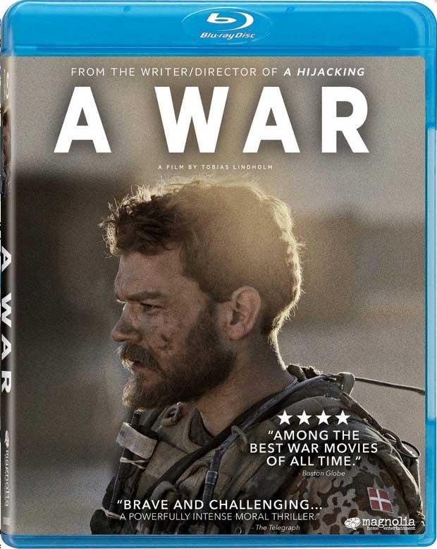 A War Blu-Ray Box Cover Art