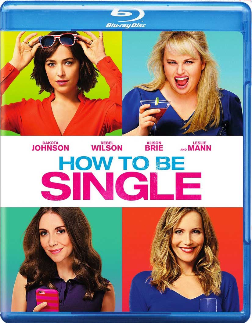 How to Be Single Blu-ray Box Cover Art