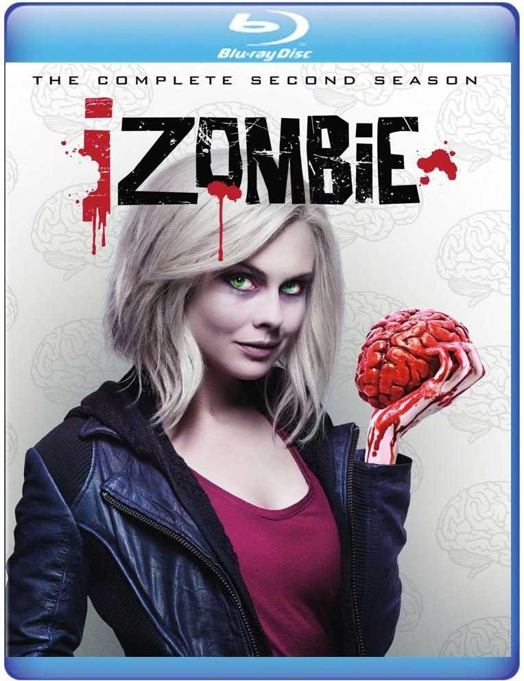 iZombie Season 2 Blu-ray Box Cover Art 1