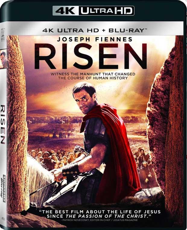 Risen 4K Blu-Ray Box Cover Art