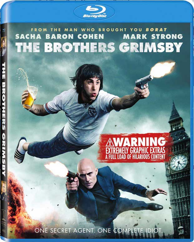 The Brothers Grimsby Blu-Ray Box Cover Art