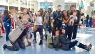 WonderCon 2016 Cosplay Funny Outtakes 104 Reel Guise Walking Dead Group