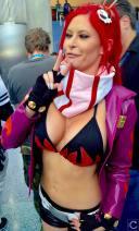 WonderCon 2016 Cosplay Funny Outtakes 110 Gurren Lagann Yoko