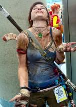 WonderCon 2016 Cosplay Funny Outtakes 111 Lara Croft Tomb Raider