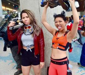 WonderCon 2016 Cosplay Funny Outtakes 119 Rocket Raccoon Star-Lord