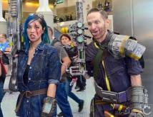 WonderCon 2016 Cosplay Funny Outtakes 128 Fallout 4 Survivors