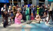 WonderCon 2016 Cosplay Funny Outtakes 13 Harry Potter Group