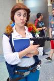 WonderCon 2016 Cosplay Funny Outtakes 135 Belle Han Solo